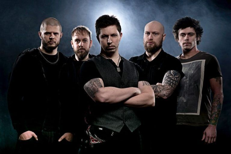 Guitarist Andy James presents his band Wearing Scars